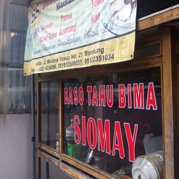 Baso Tahu Bima - Bandung, Jawa Barat