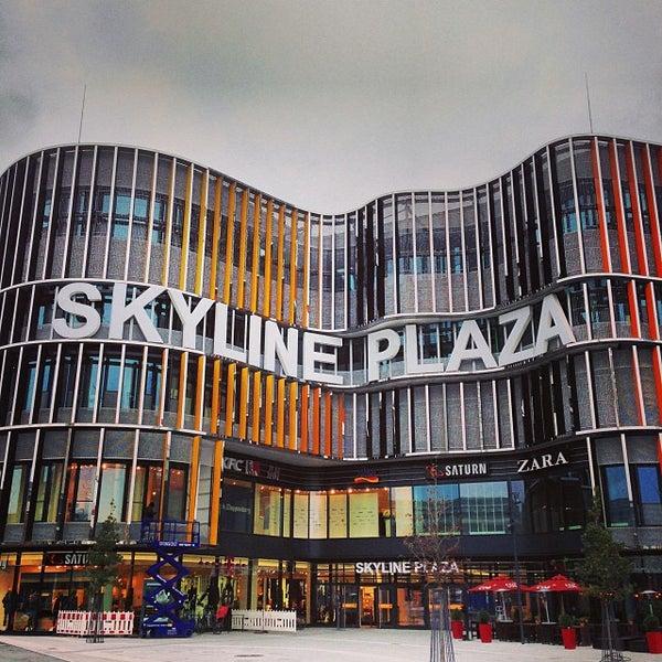 Shopping Mall In Frankfurt Am Main