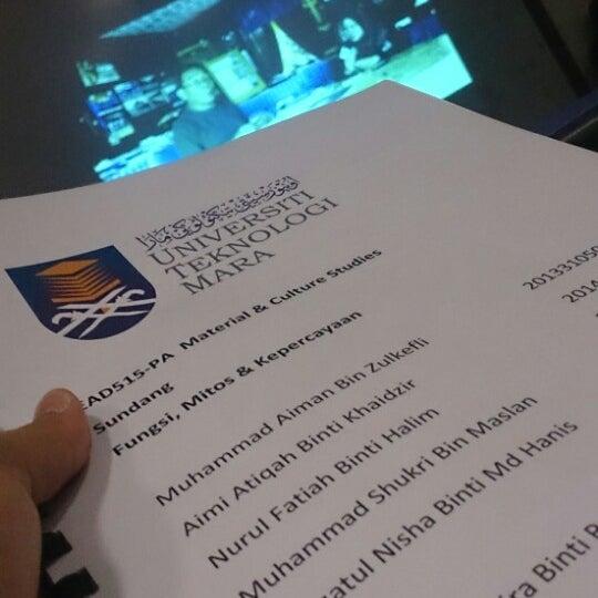 Photos At Dk 11 Fsk 7 Uitm Puncak Alam College Auditorium