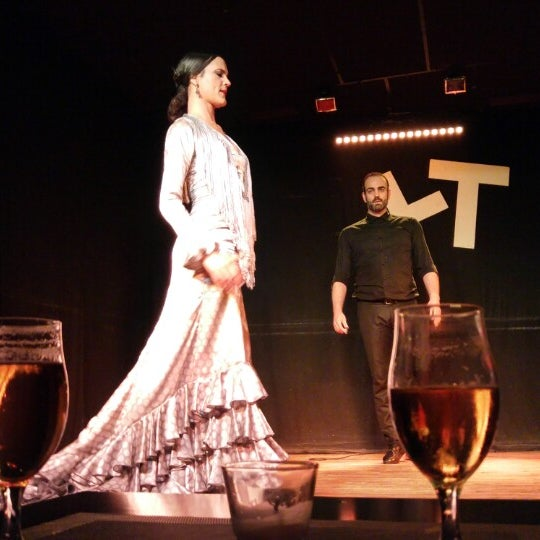 Снимок сделан в Las Tablas Tablao Flamenco пользователем Marcelo M. 1/9/2016