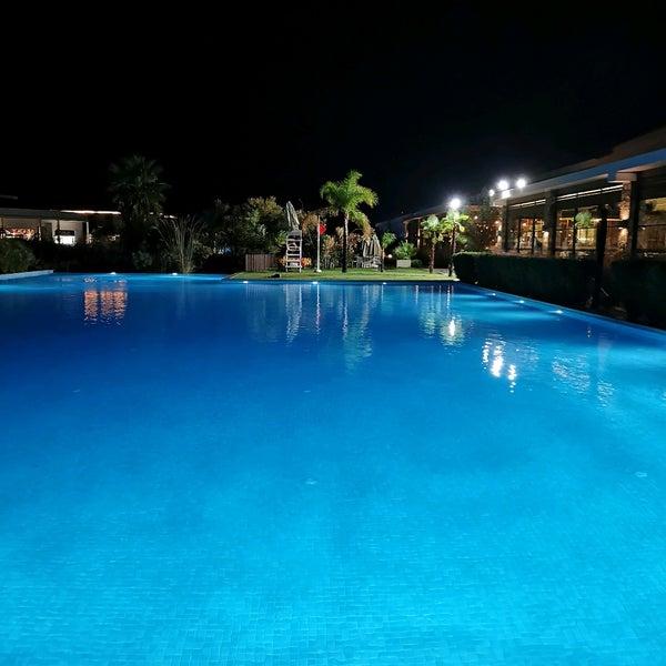 Снимок сделан в Jiva Beach Resort пользователем Memduh T. 10/16/2021