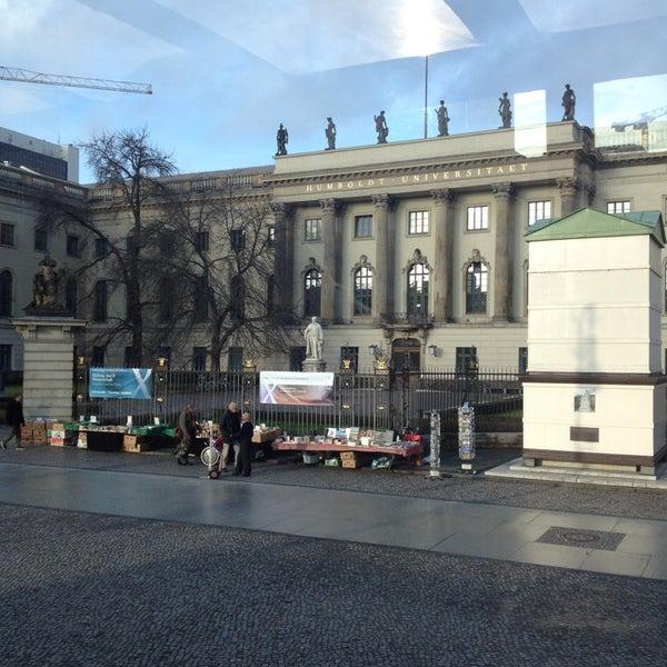 12/22/2013에 Erna A.님이 Humboldt-Universität zu Berlin에서 찍은 사진