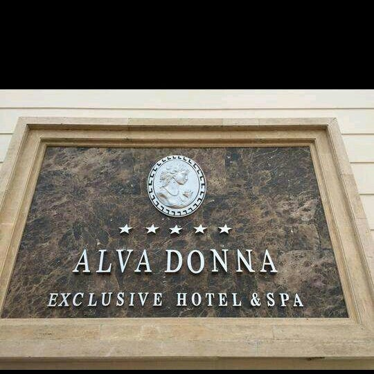 8/26/2015にAhmet T.がAlva Donna Exclusive Hotel & Spaで撮った写真