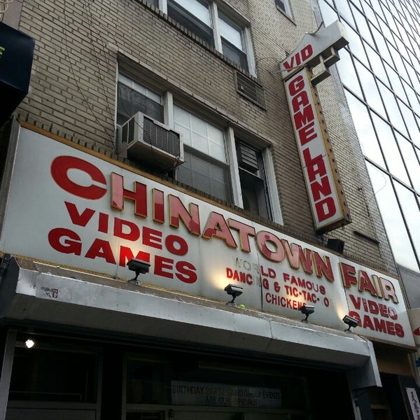 Neo Queens Arcade: Chinatown Fair Video Arcade