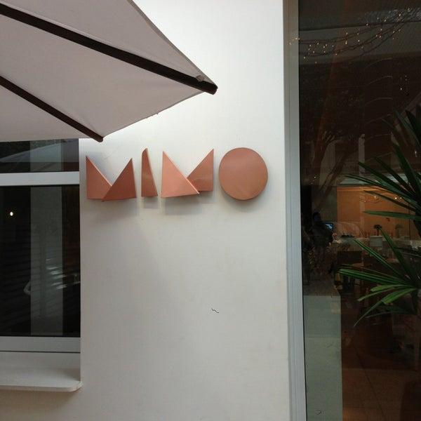 Foto tirada no(a) MIMO Restaurante por Marcelo Y. em 6/2/2013