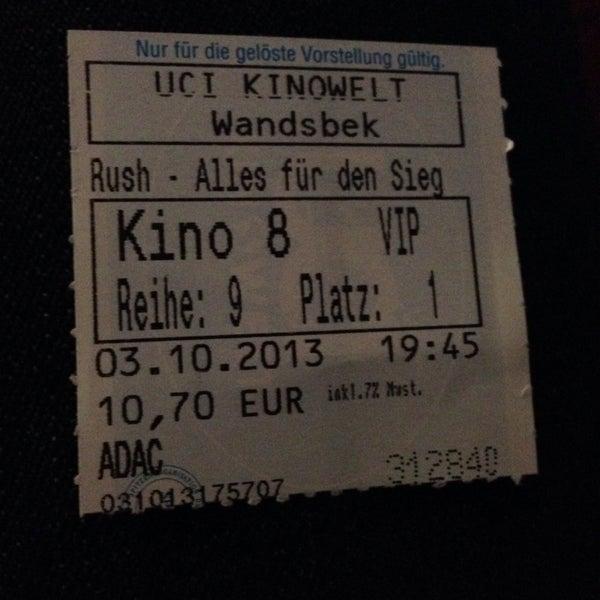 Uci Kinowelt Wandsbek Hamburg