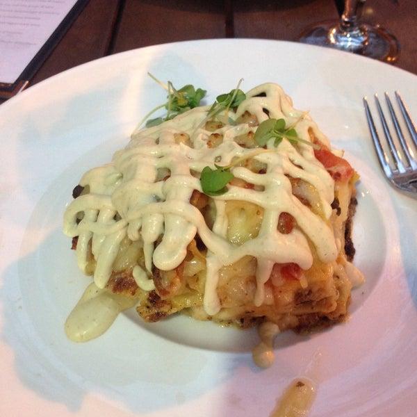 Снимок сделан в Ambar Balkan Cuisine пользователем Breanna B. 8/7/2013