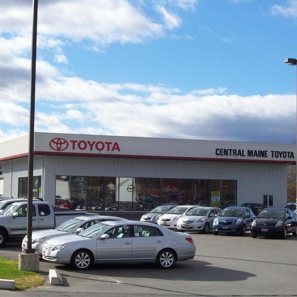 Toyota Maine: Central Maine Motors Toyota