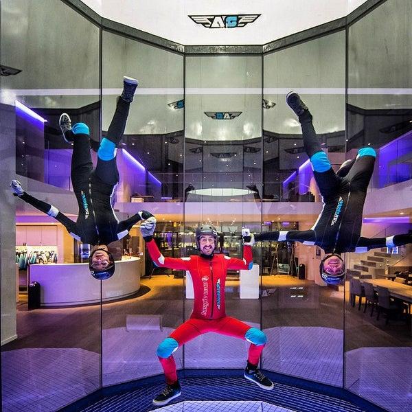Das Foto wurde bei Airspace Indoor Skydiving von Airspace Indoor Skydiving am 3/5/2015 aufgenommen