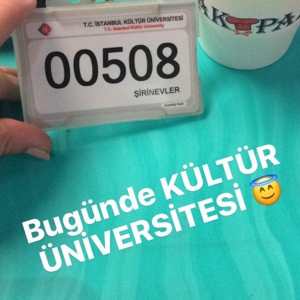 Foto tirada no(a) İstanbul Kültür Üniversitesi por Meral K. em 10/10/2016