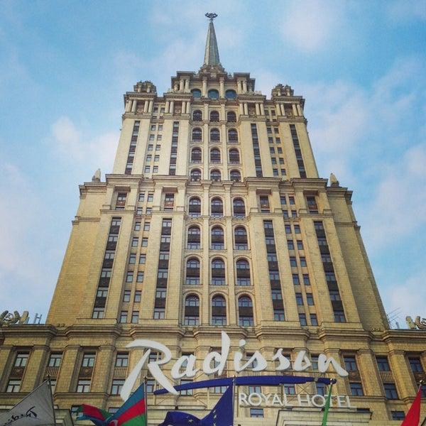 Foto scattata a Radisson Royal Hotel da Павел К. il 2/19/2013