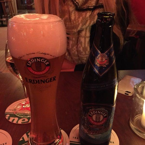 If you love German (Erdinger) beers, this is your spot!
