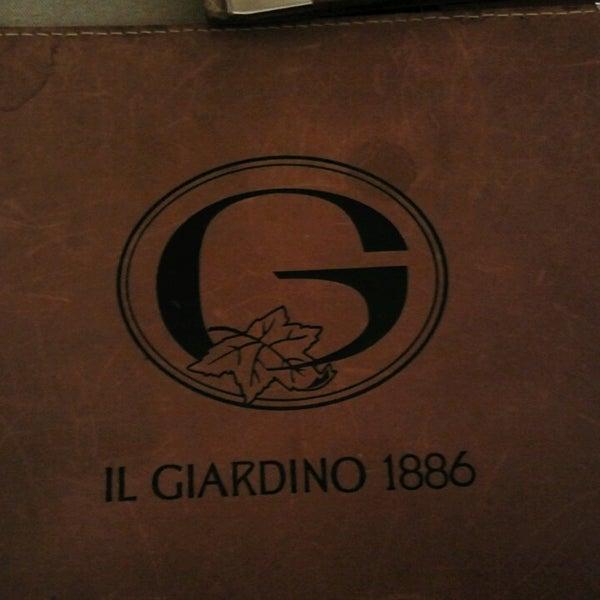 Foto scattata a Il Giardino 1886 da Alessandra Z. il 4/14/2013