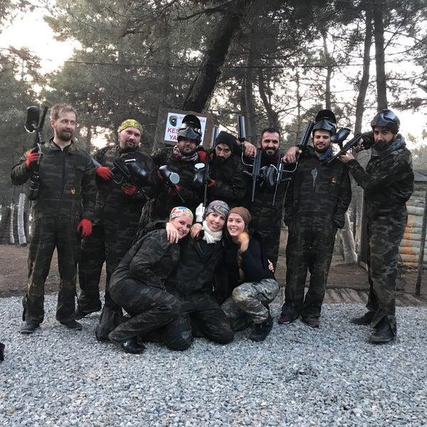 Foto diambil di Natura Paintball oleh Savaş S. pada 4/23/2017