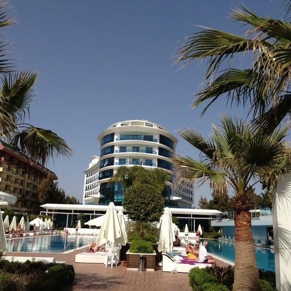 4/6/2013 tarihinde Sinan G.ziyaretçi tarafından Q Premium Resort Hotel Alanya'de çekilen fotoğraf