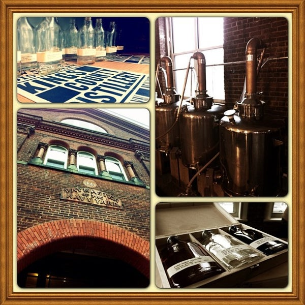 Foto scattata a Kings County Distillery da Phanessa il 1/12/2013