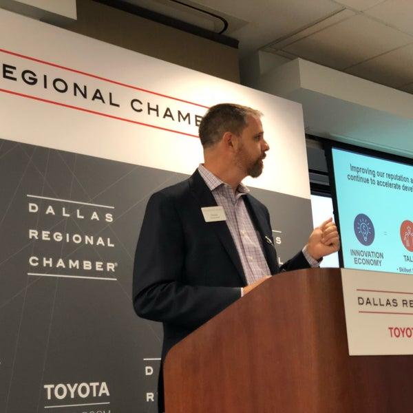 Снимок сделан в Dallas Regional Chamber пользователем Joshua B. 9/12/2018
