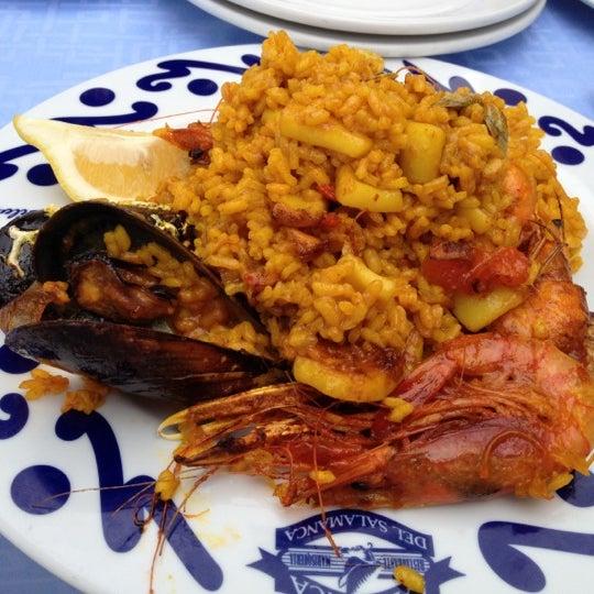 Das Foto wurde bei Restaurante Salamanca von Anton F. am 9/18/2012 aufgenommen