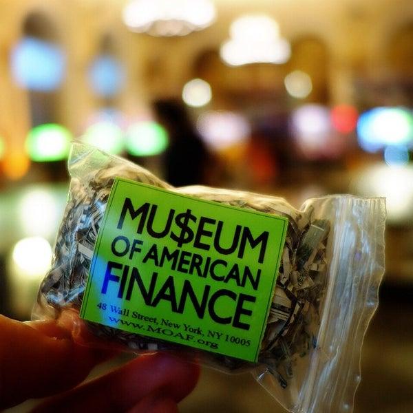 Foto tirada no(a) Museum of American Finance por Peggy S. em 6/24/2014