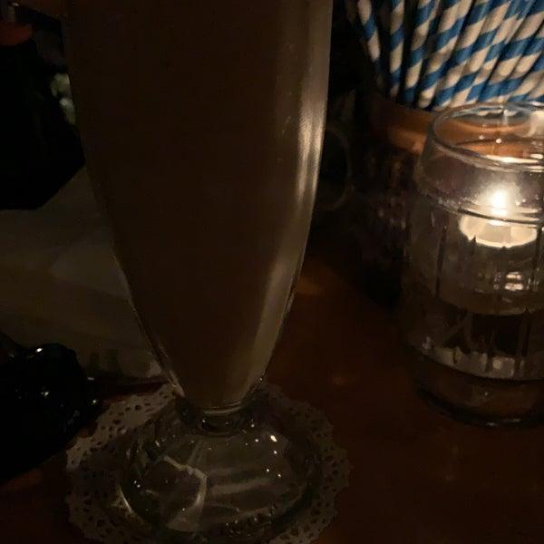 Bizarre but tasty cocktails.