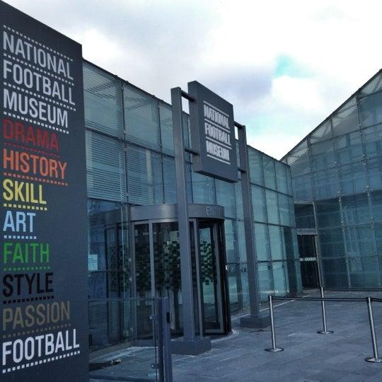 11/28/2012 tarihinde Paul S.ziyaretçi tarafından National Football Museum'de çekilen fotoğraf