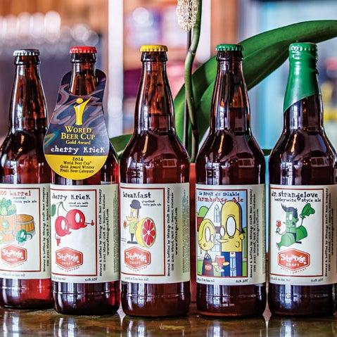 Das Foto wurde bei Strange Craft Beer Company von Strange Craft Beer Company am 3/19/2015 aufgenommen