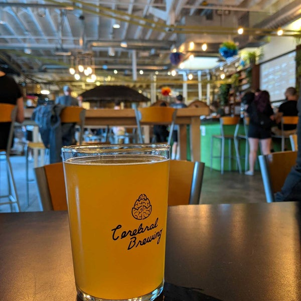 Photo taken at Cerebral Brewing by Jim P. on 8/7/2021