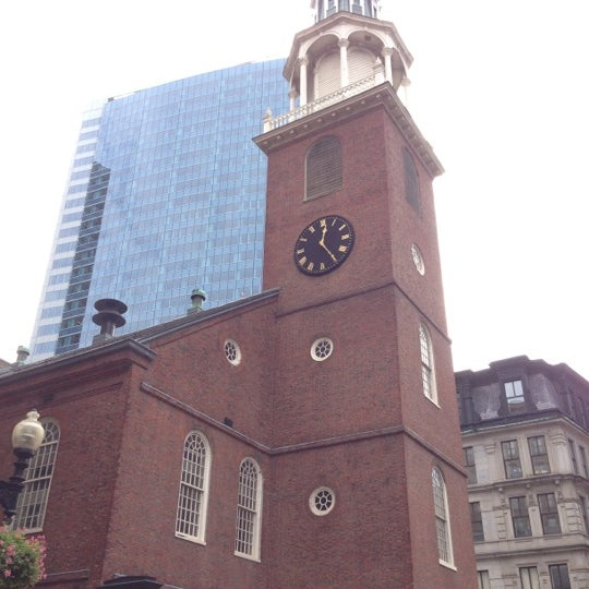 10/6/2012にHal T.がOld South Meeting Houseで撮った写真