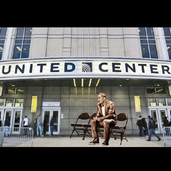 รูปภาพถ่ายที่ United Center โดย Chaun H. เมื่อ 5/3/2013