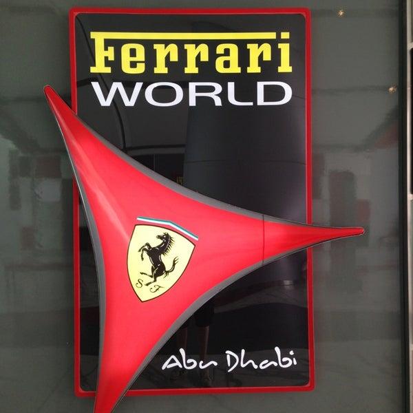Foto scattata a Ferrari World Abu Dhabi da Manu A. il 3/13/2013