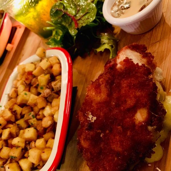 Excelente el pollo Cordon Blue!
