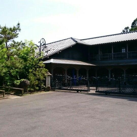 松山 庭園 美術館