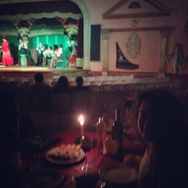 Foto tomada en Tablao Flamenco El Palacio Andaluz por Gokhan E. el 1/30/2013