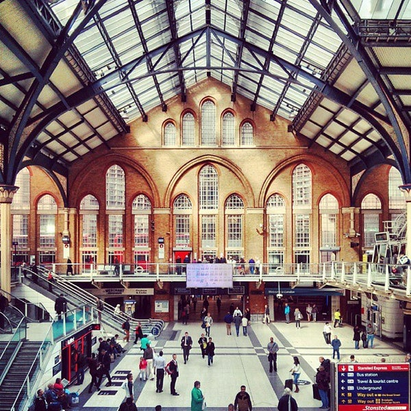 London Liverpool Street Railway Station Lst