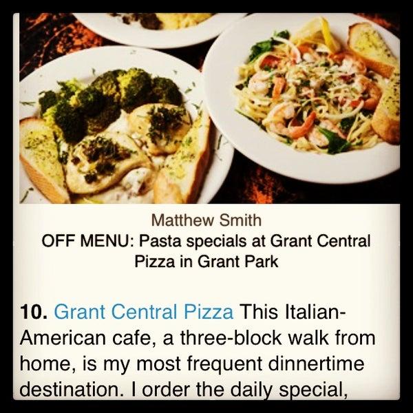 4/9/2015にGrant Central Pizza & PastaがGrant Central Pizza & Pastaで撮った写真