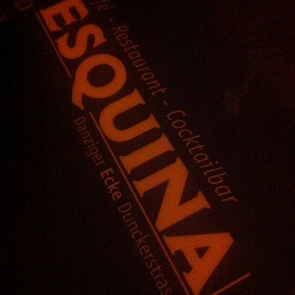 Foto diambil di Cafe Esquina oleh Esko Juhani H. pada 9/29/2013