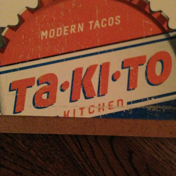 3/28/2013 tarihinde Maureen F.ziyaretçi tarafından Takito Kitchen'de çekilen fotoğraf