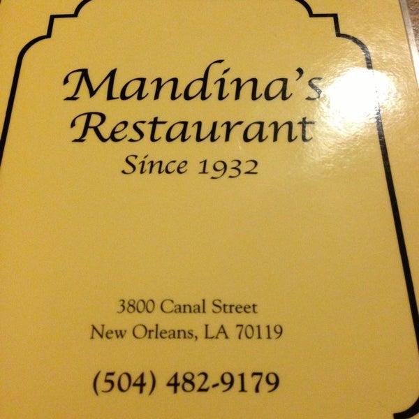 Photo taken at Mandina's Restaurant by Darnee W. on 3/11/2013