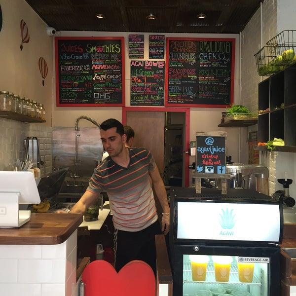 Photo taken at Agavi Organic Juice Bar by Jack M. on 5/26/2015