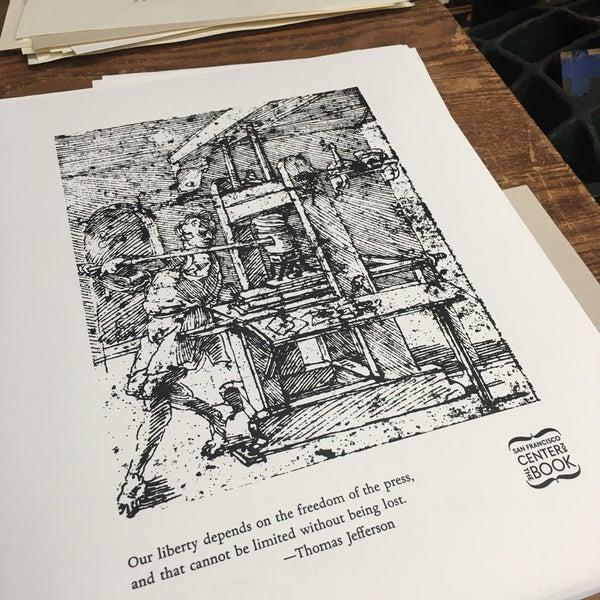 Photo prise au SF Center for the Book par Princess Susannah G. le10/18/2019