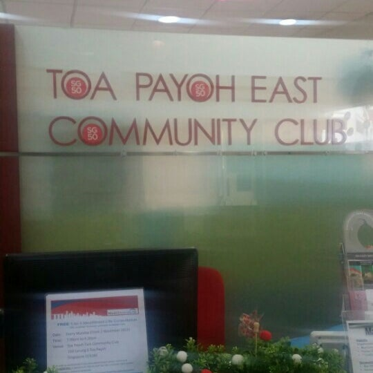 Photo Taken At Toa Payoh East Community Club By Kevin T On 11 12