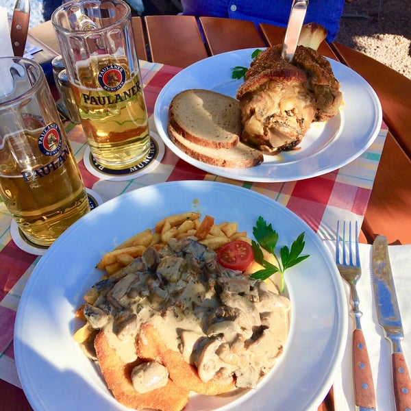 Paulanergarten Holle S Am Schlossgarten Deutsches Restaurant In Hanau