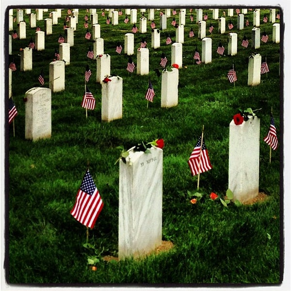 "Photo prise au Arlington National Cemetery par Michael ""Jocco"" P. le5/27/2013"