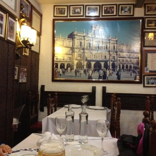 Das Foto wurde bei Restaurante Salamanca von Alberto A. am 11/4/2012 aufgenommen