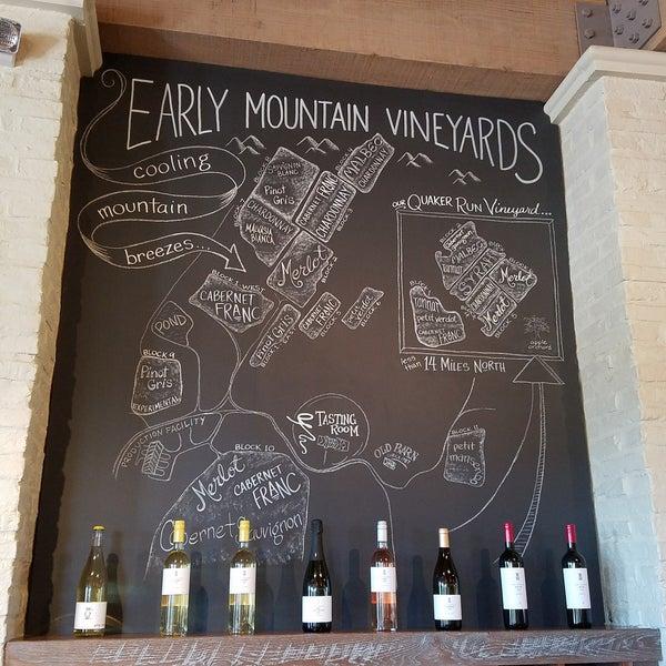 Снимок сделан в Early Mountain Vineyards пользователем Jared C. 10/1/2017