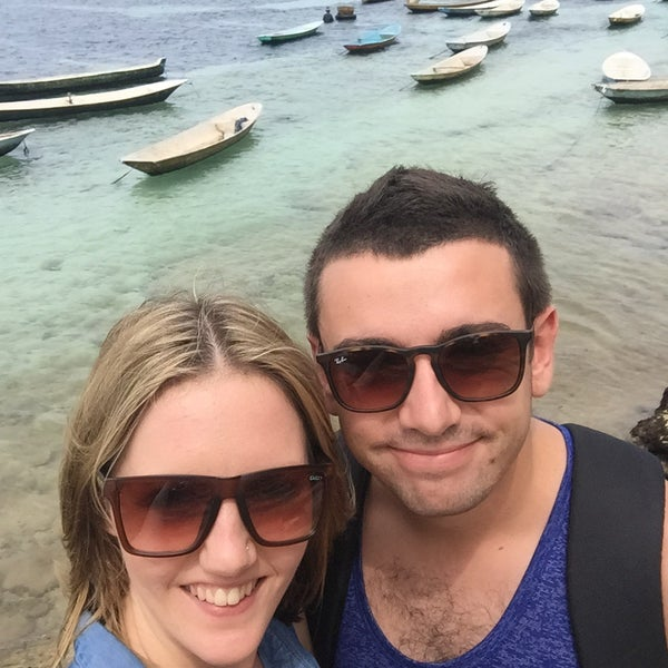 """""""Moment of the day"""" We loved lembongan island! Well worth it! Island tour, amazing lunch, swimming, snorkeling, what else could you want! 👌🏼🌏"""