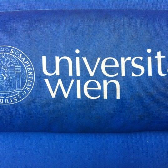 Foto tomada en Universität Wien por Ekaterina P. el 11/23/2012