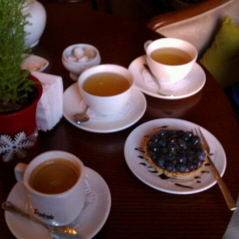Photo taken at Tea & Coffee garden by Anna V. on 2/1/2013