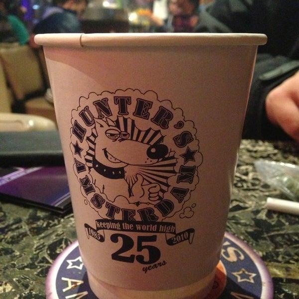 Foto tomada en Hunter's Coffeeshop por Eddie K. el 5/22/2013