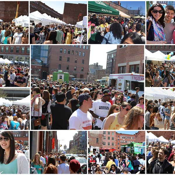 Foto scattata a South End Open Market @ Ink Block da South End Open Market @ Ink Block il 5/5/2015